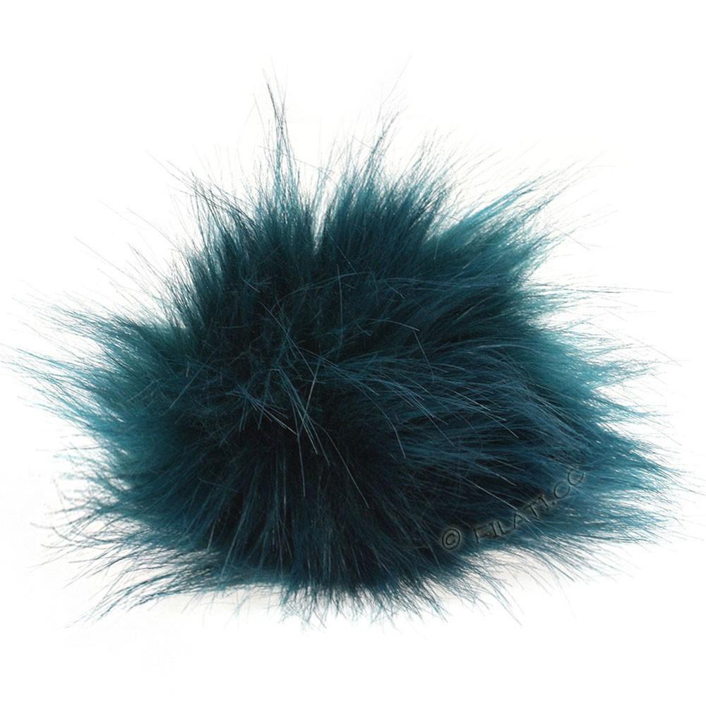 Faux Fur Pompon Color