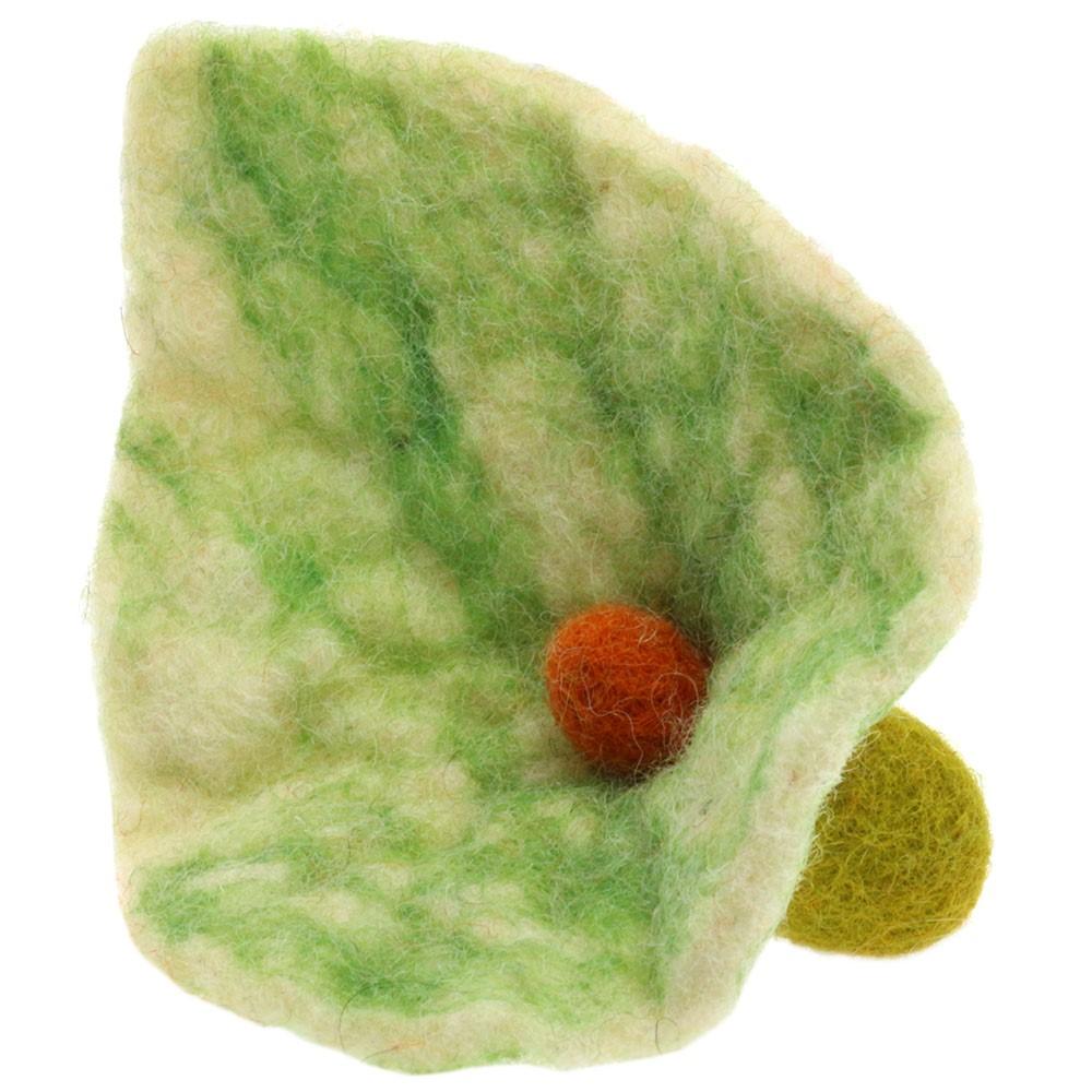 Blomst af filt