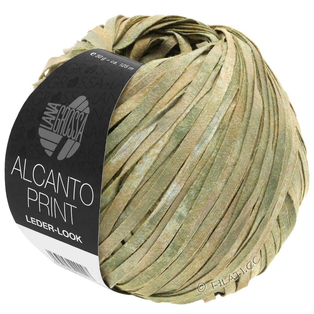 Lana Grossa ALCANTO Print | 101-natur/beige/grågrøn