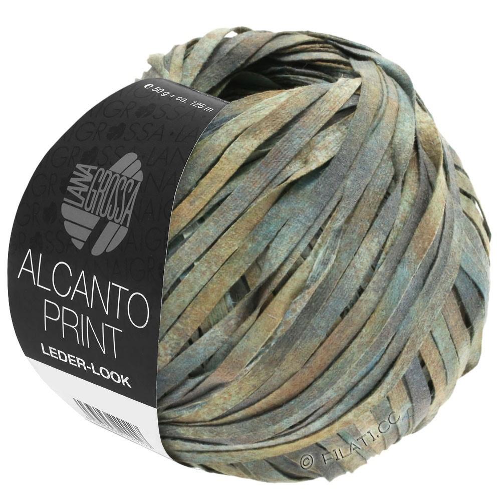 Lana Grossa ALCANTO Print | 102-grå/beige