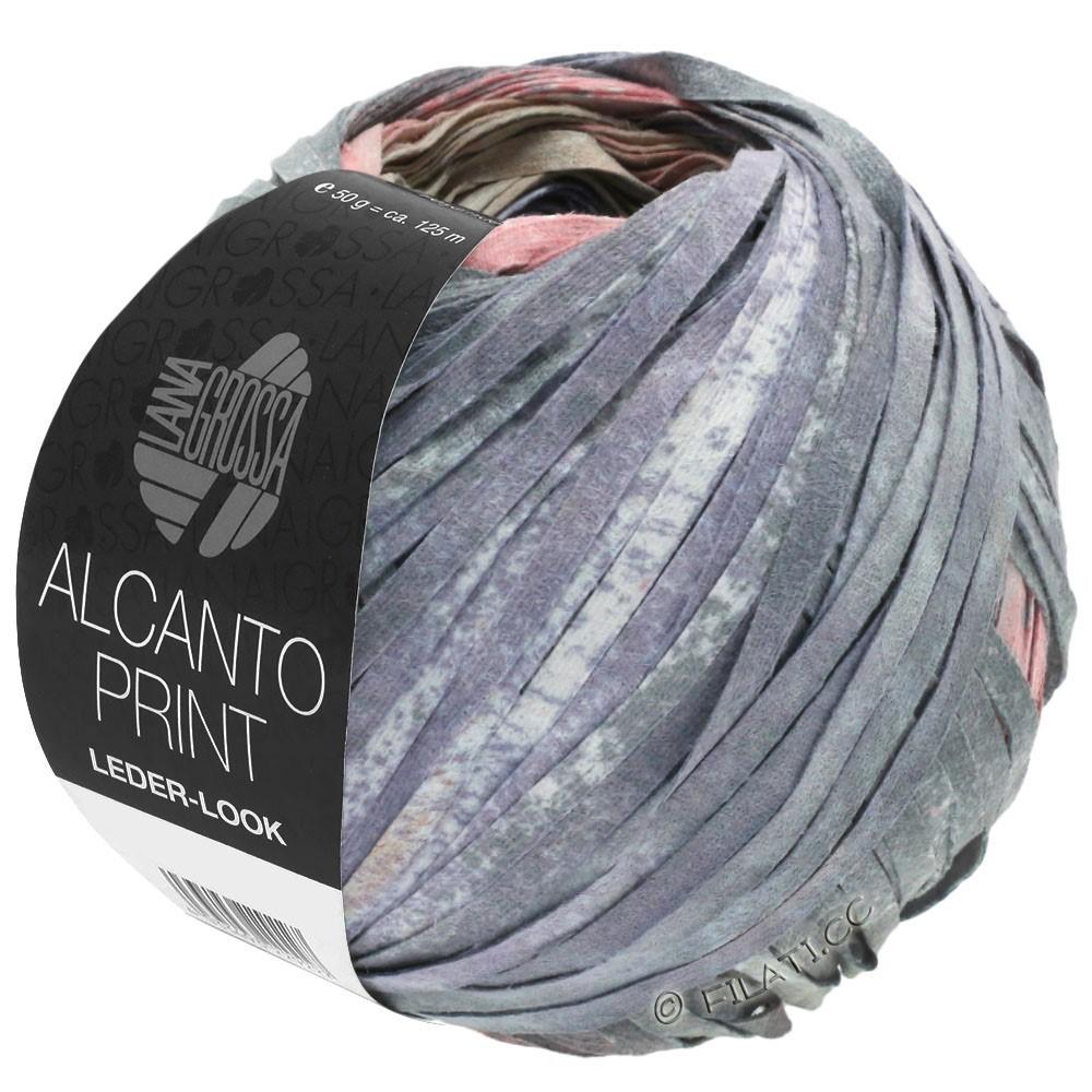 Lana Grossa ALCANTO Print | 205-natur/beige/grå/gammelrosa