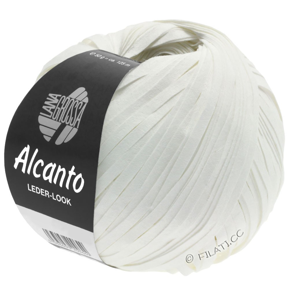 Lana Grossa ALCANTO | 12-hvid