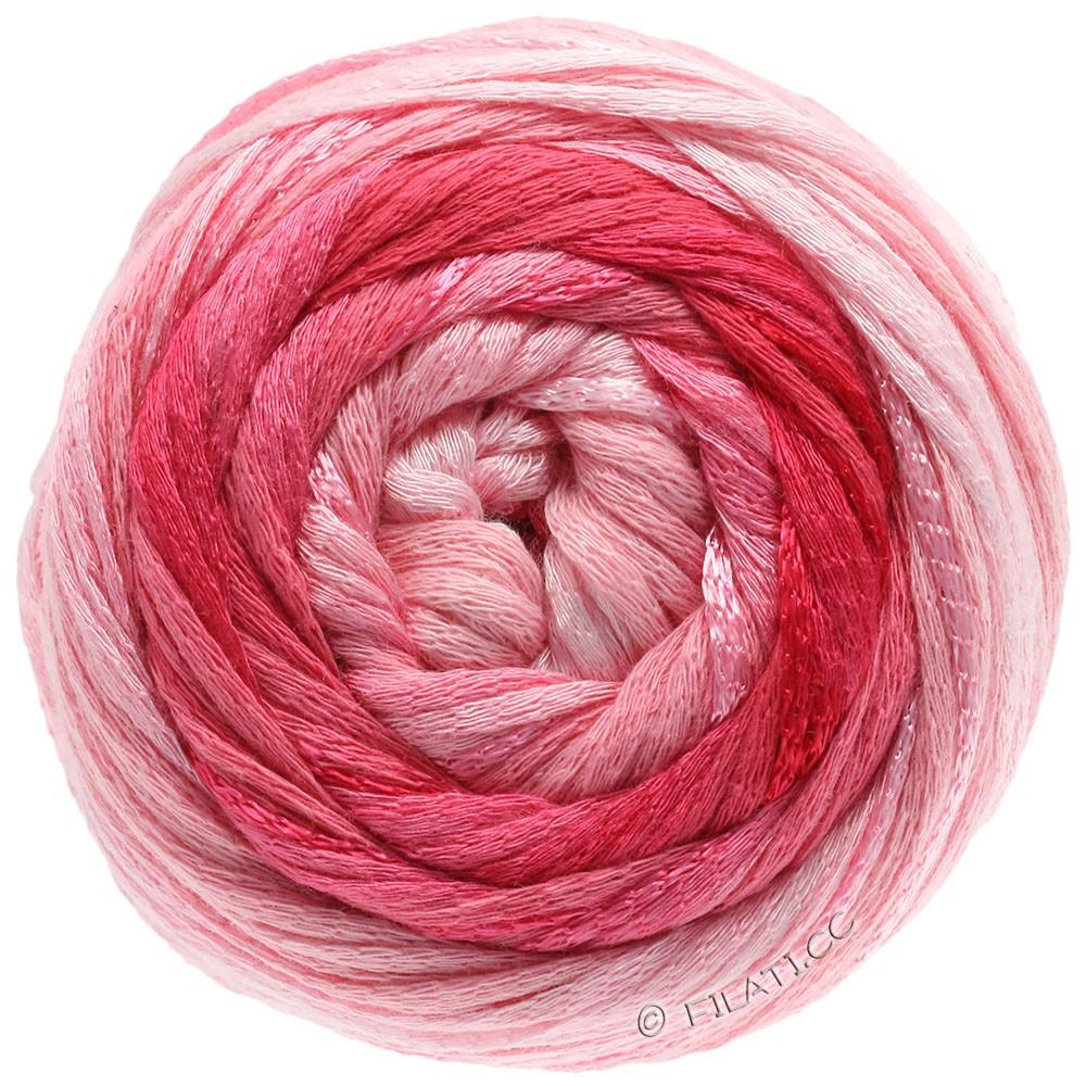 Lana Grossa ALLEGRO Degradé   202-sartrosa/rosa/hindbær/mørkerød