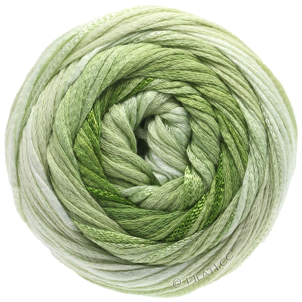 Lana Grossa ALLEGRO Degradé   207-natur/sartgrøn/lysegrøn/bladgrøn/olivengrøn