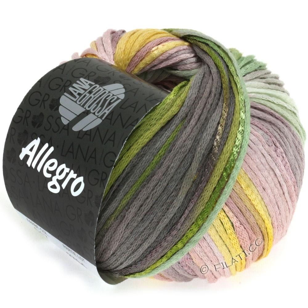 Lana Grossa ALLEGRO | 017-gul/grøn/mokka/rosentræ