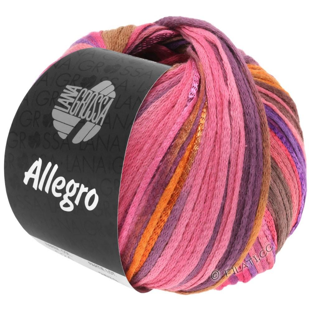 Lana Grossa ALLEGRO | 031-pink/orange/violet/kanel