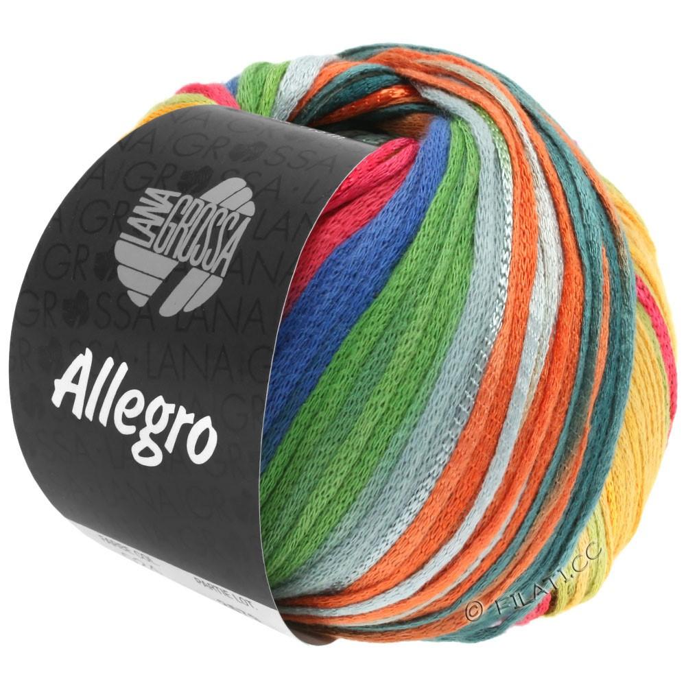 Lana Grossa ALLEGRO | 032-ruste/honninggul/petrol/grøn/lysegrå/gråbrun/blå