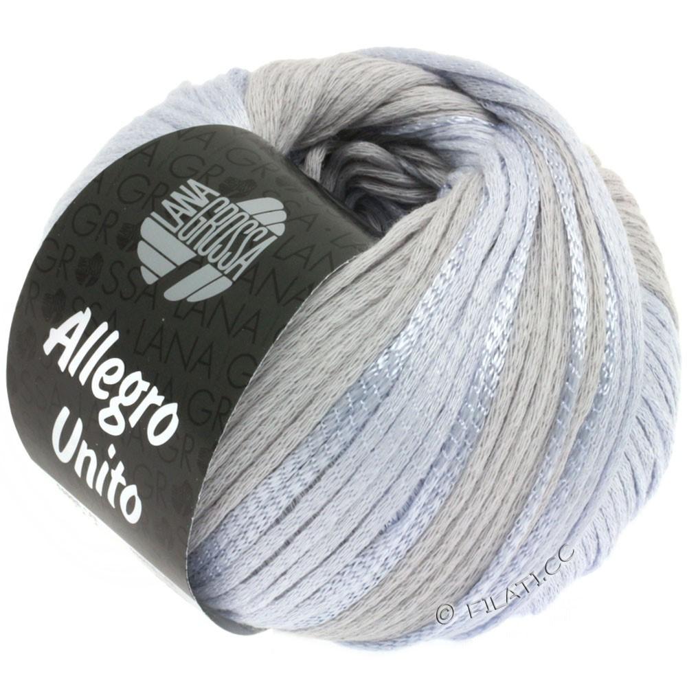 Lana Grossa ALLEGRO Unito | 104-sølvgrå