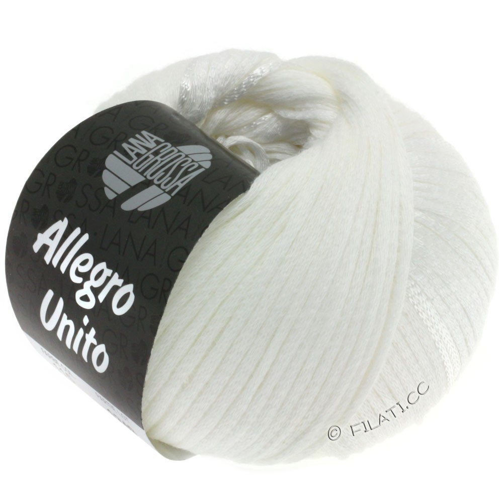 Lana Grossa ALLEGRO Unito | 115-hvid