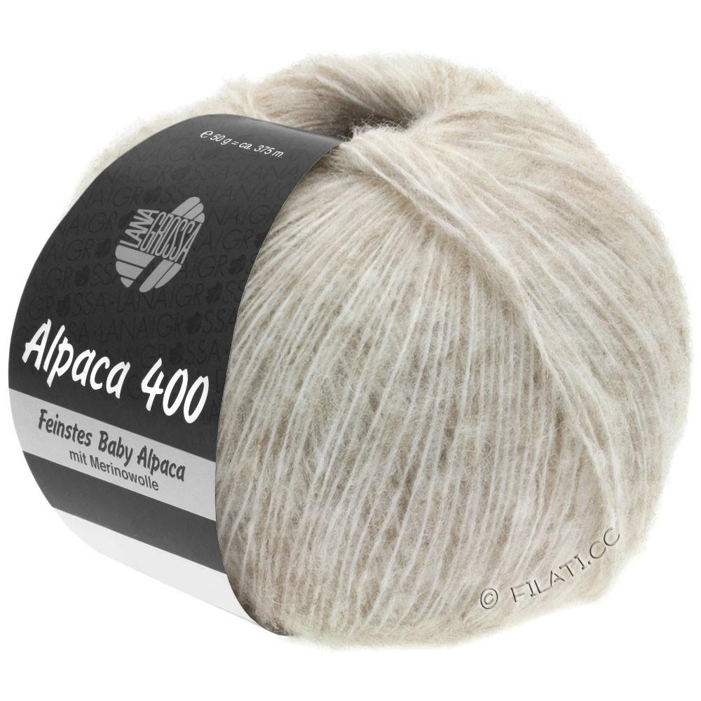 Lana Grossa ALPACA 400 | 02-lyse beige