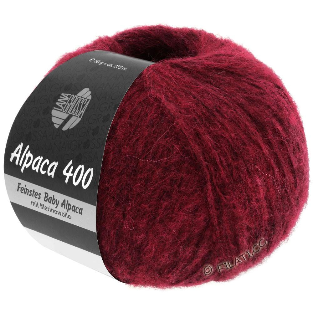 Lana Grossa ALPACA 400 | 09-vinrød