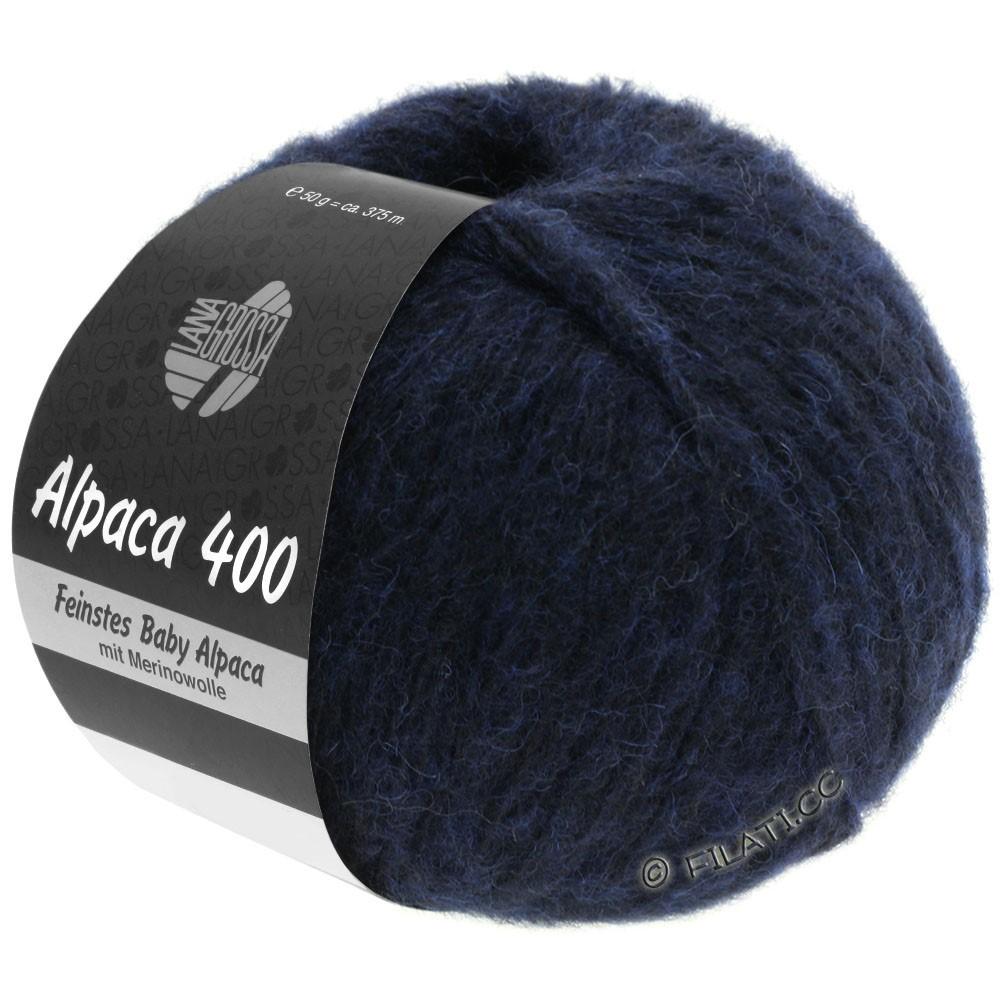 Lana Grossa ALPACA 400 | 10-natblå