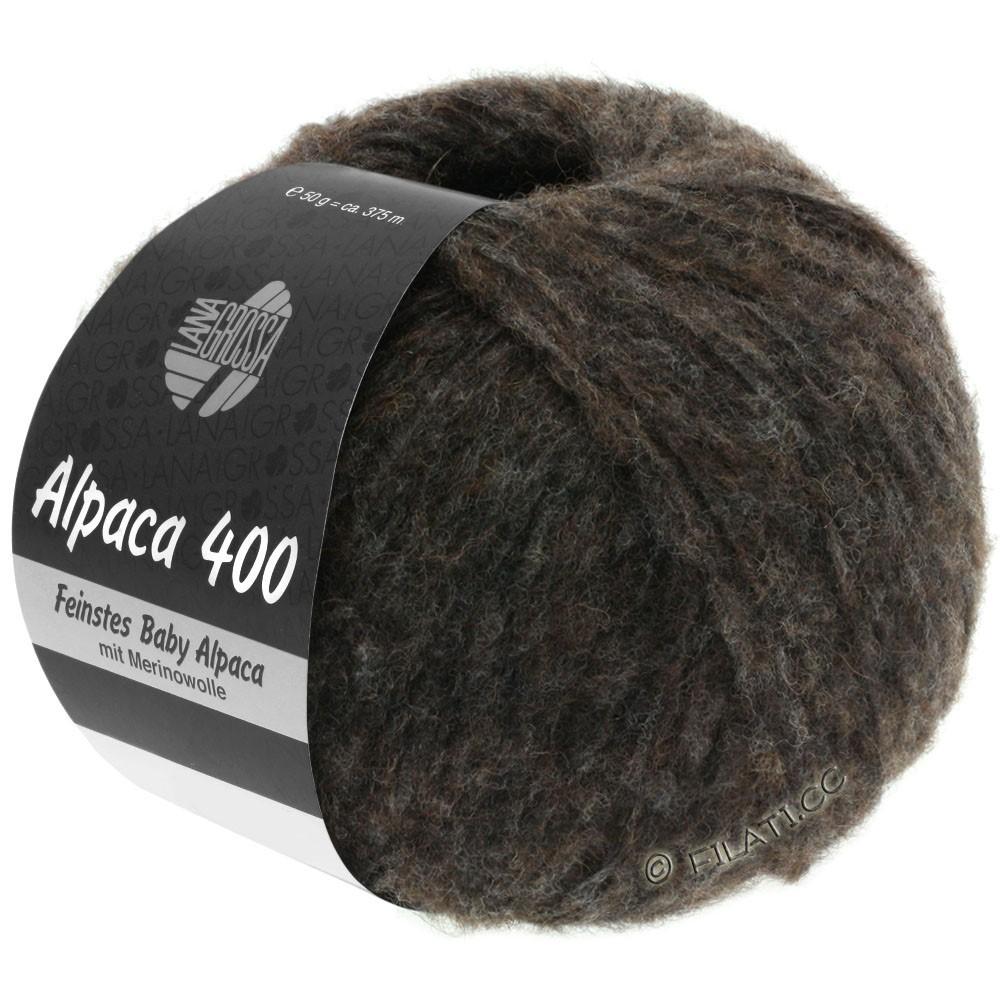 Lana Grossa ALPACA 400 | 13-sortbrun
