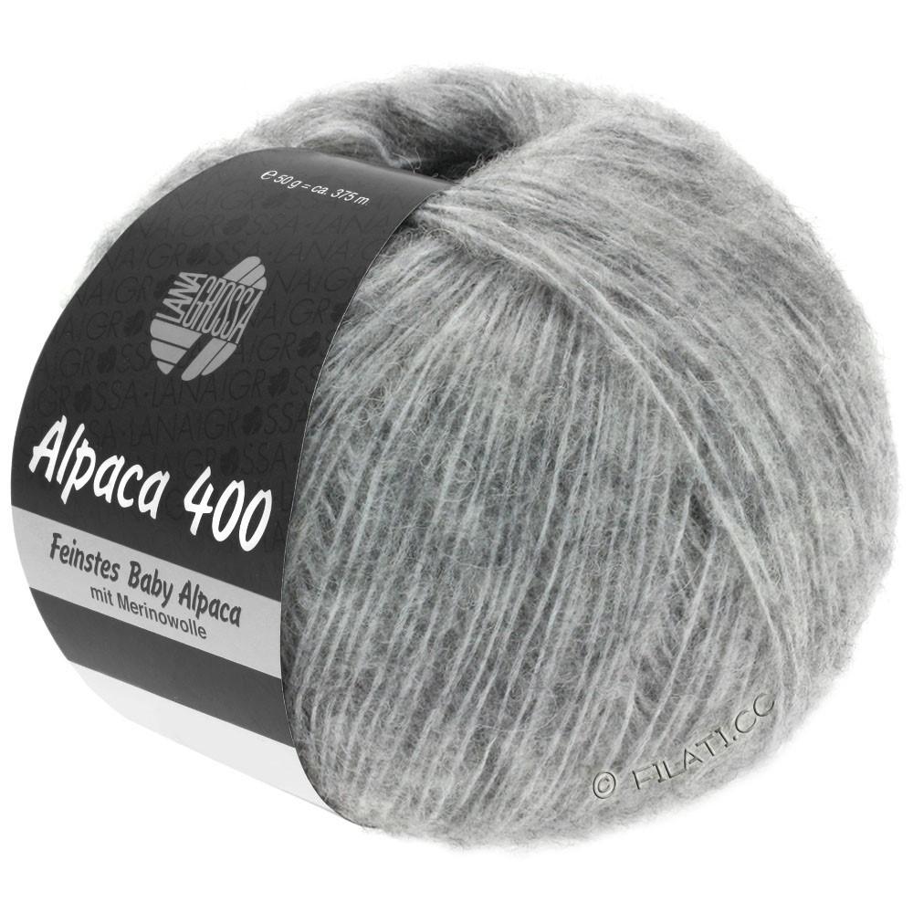 Lana Grossa ALPACA 400 | 14-lysegrå