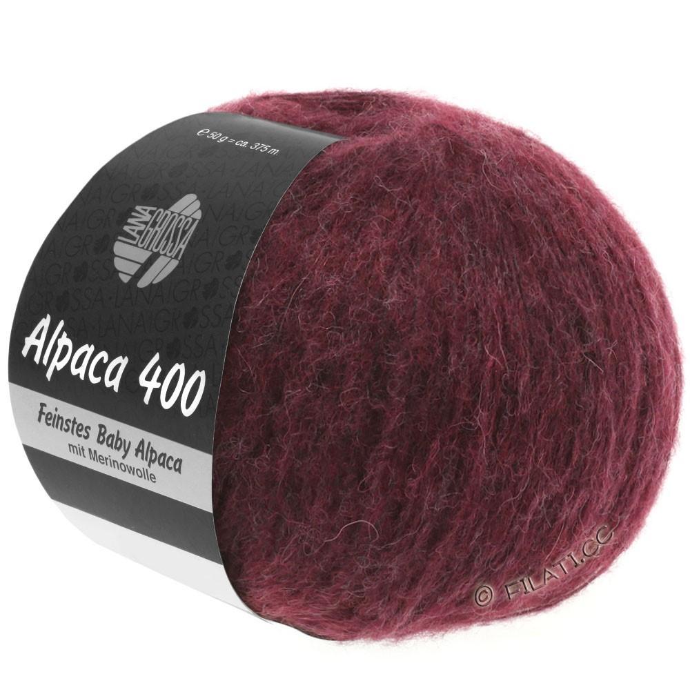 Lana Grossa ALPACA 400 | 16-sortrød