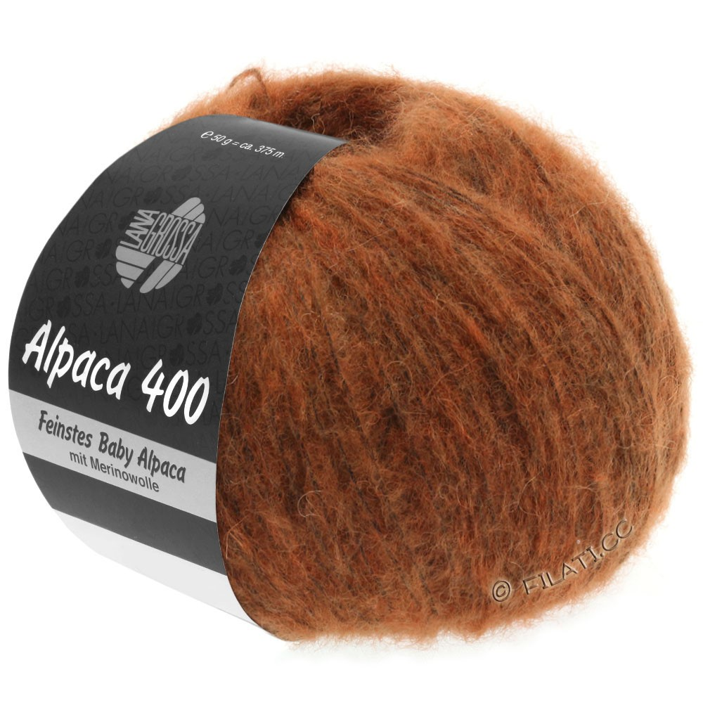 Lana Grossa ALPACA 400 | 17-kobber
