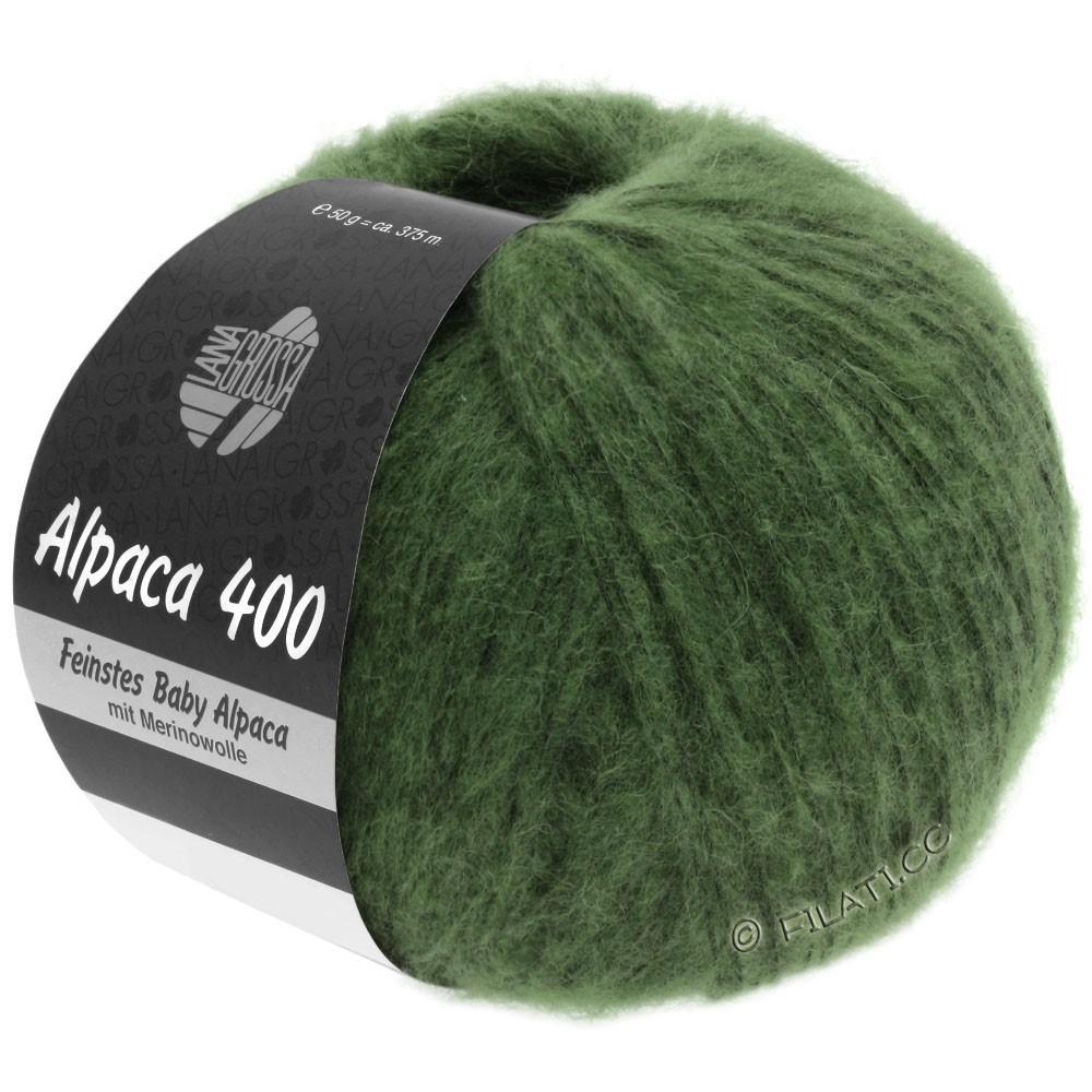 Lana Grossa ALPACA 400 | 19-mørkegrøn