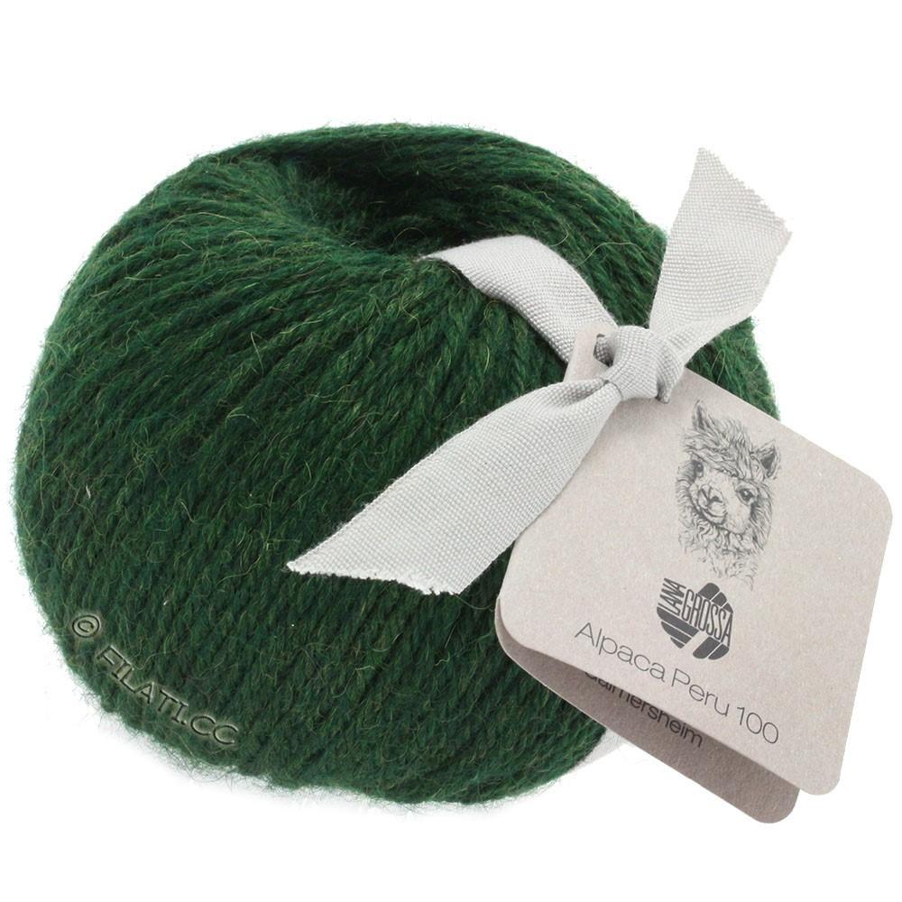 Lana Grossa ALPACA PERU 100 | 114-traditionel grøn