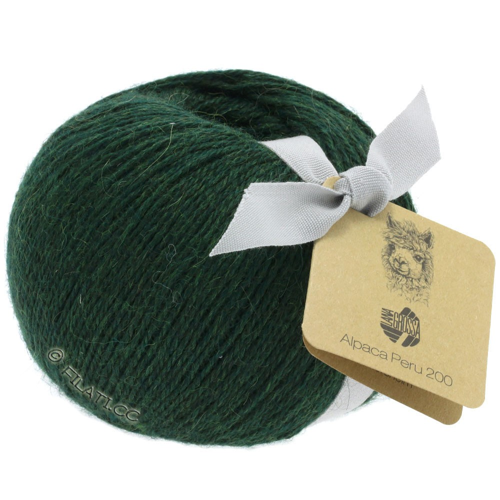 Lana Grossa ALPACA PERU 200 | 214-traditionel grøn