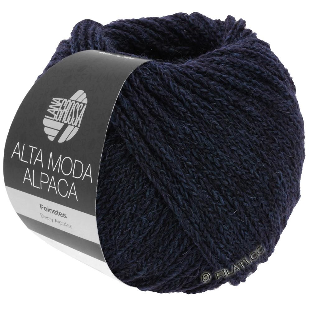 Lana Grossa ALTA MODA ALPACA | 05-natblå