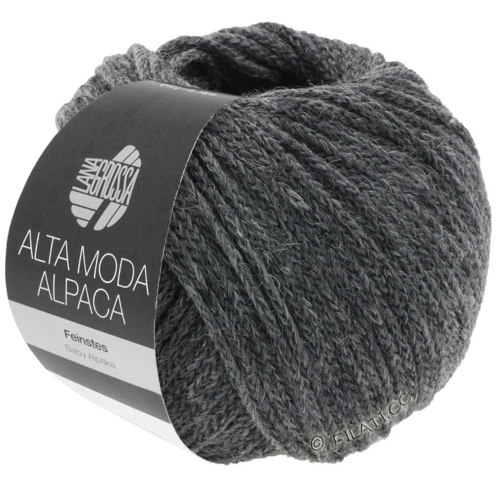 Lana Grossa ALTA MODA ALPACA | 22-mørkegrå meleret