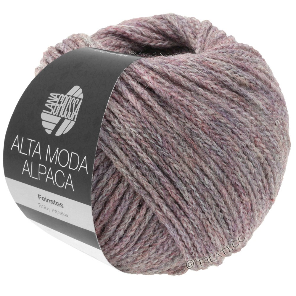 Lana Grossa ALTA MODA ALPACA | 44-lilla meleret