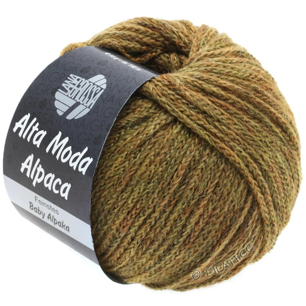 Lana Grossa ALTA MODA ALPACA | 50-gyldenbrun meleret