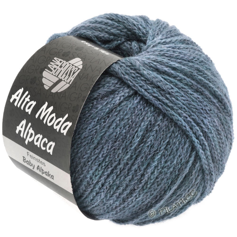 Lana Grossa ALTA MODA ALPACA | 53-jeans meleret