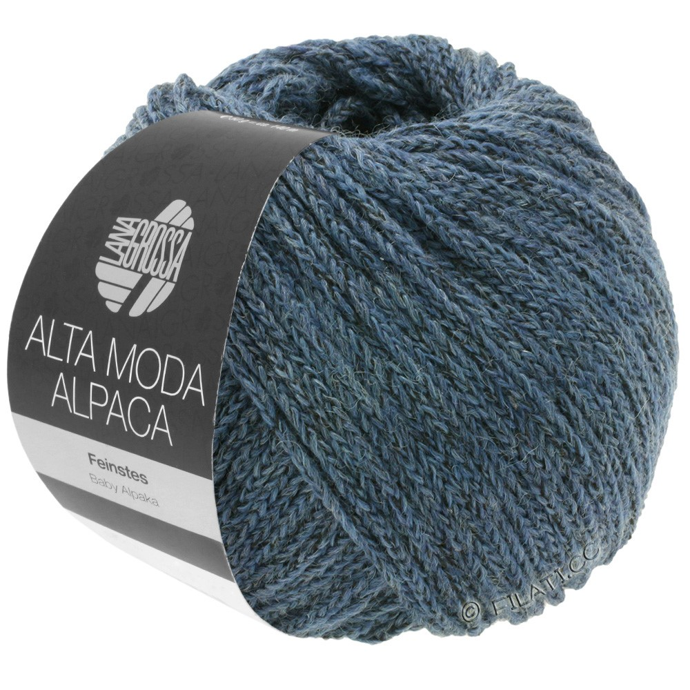 Lana Grossa ALTA MODA ALPACA | 60-gråblå meleret