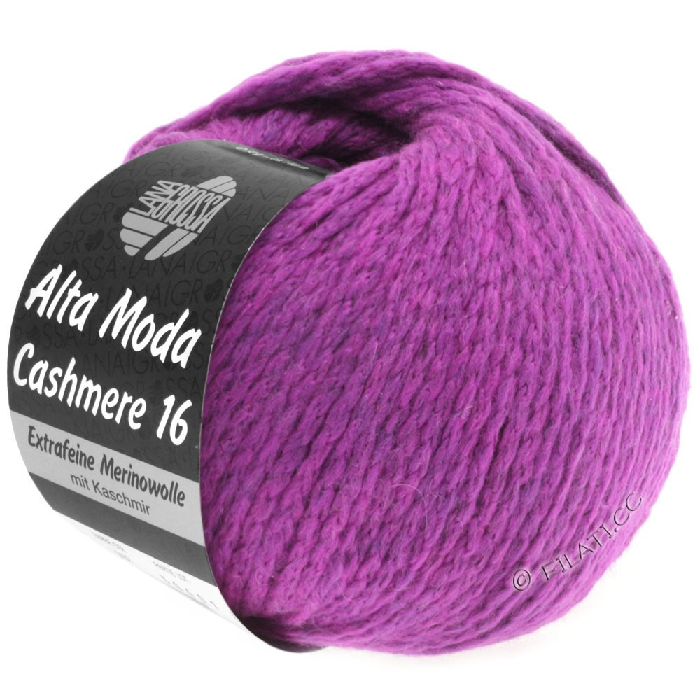 Lana Grossa ALTA MODA CASHMERE 16 Uni/Degradé | 012-violet