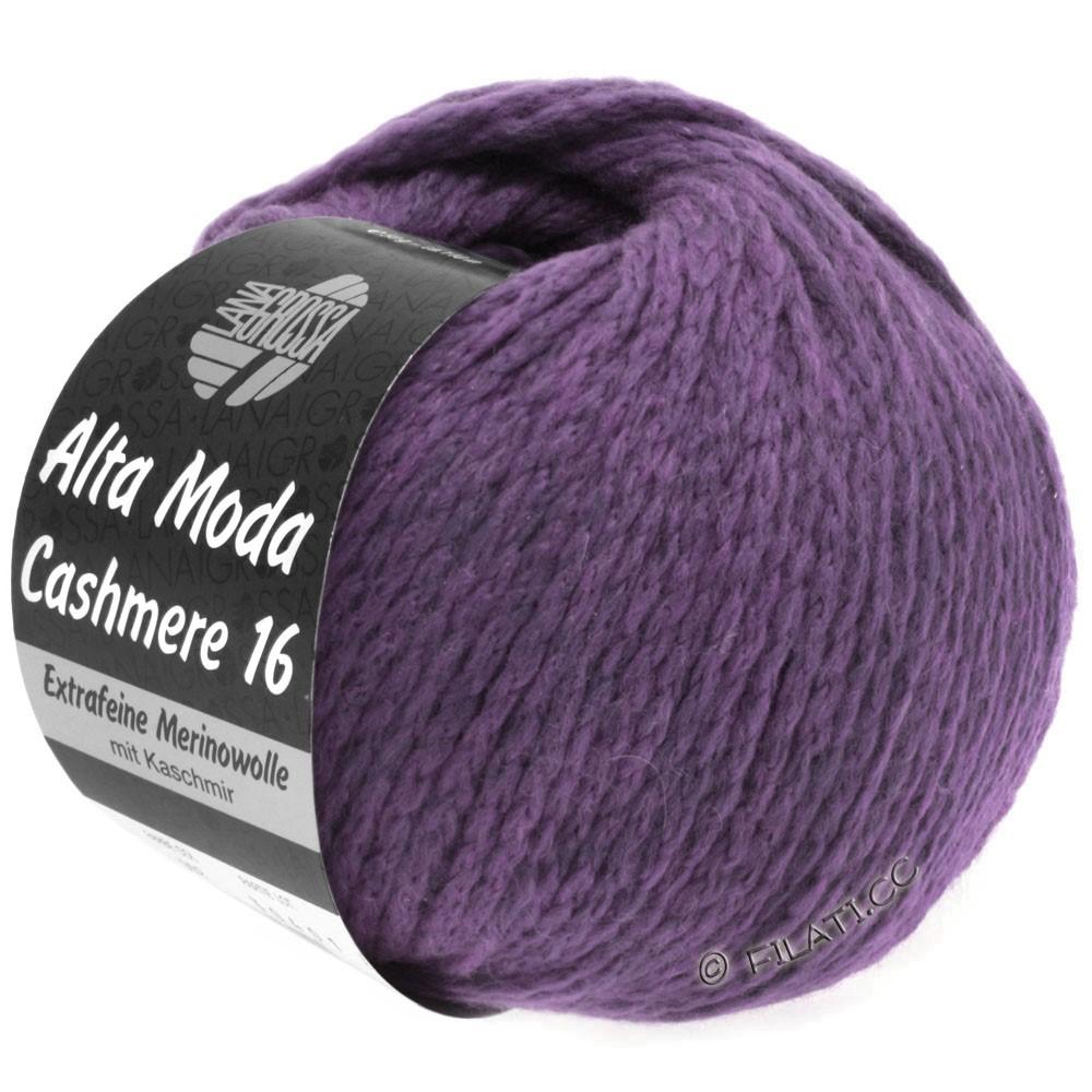 Lana Grossa ALTA MODA CASHMERE 16 Uni/Degradé | 021-violet