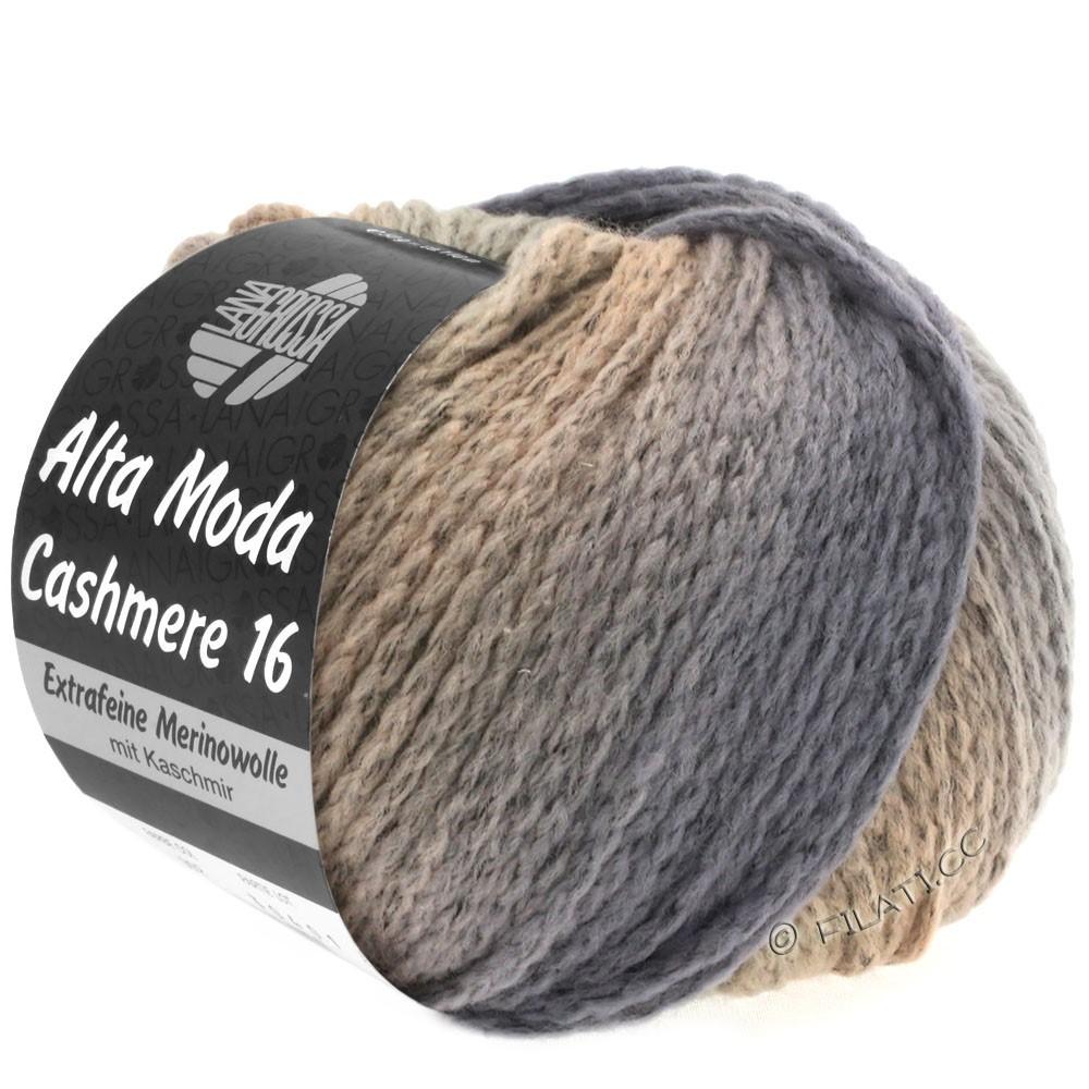 Lana Grossa ALTA MODA CASHMERE 16 Degradé | 111-grå/beige