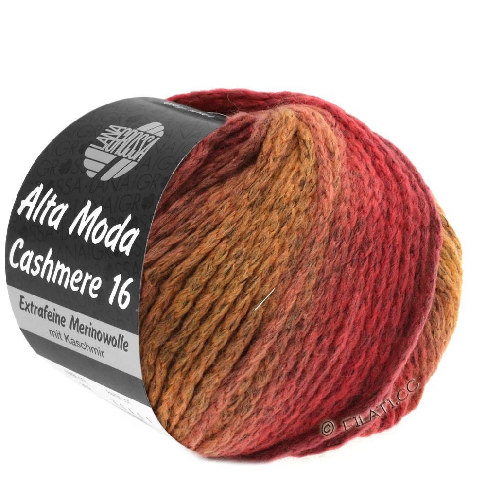 Lana Grossa ALTA MODA CASHMERE 16 Degradé | 112-pastelrosa/rosentræ/mørkerød/burgund