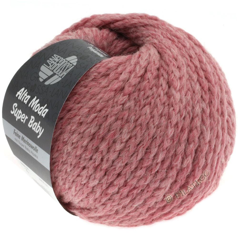 Lana Grossa ALTA MODA SUPER BABY Jaspè   023-lilla rosa