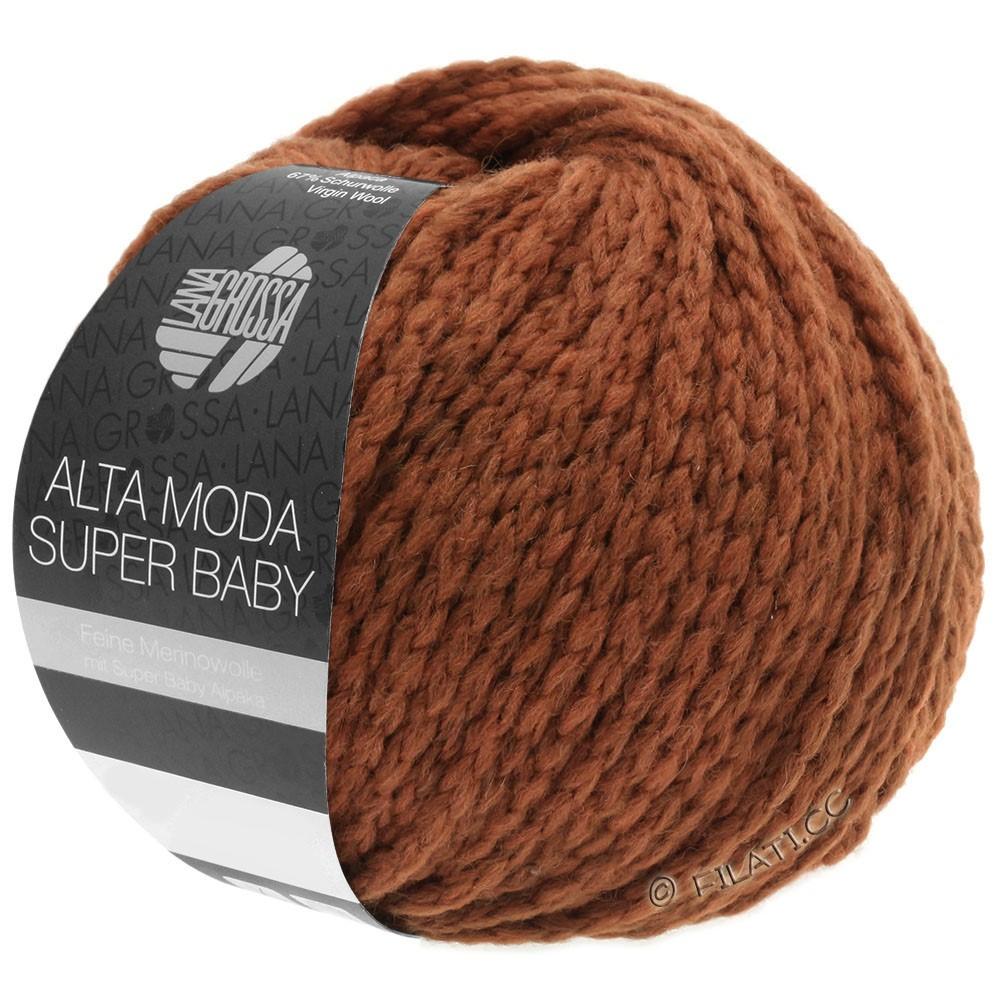 Lana Grossa ALTA MODA SUPER BABY  Uni | 043-terrakotta