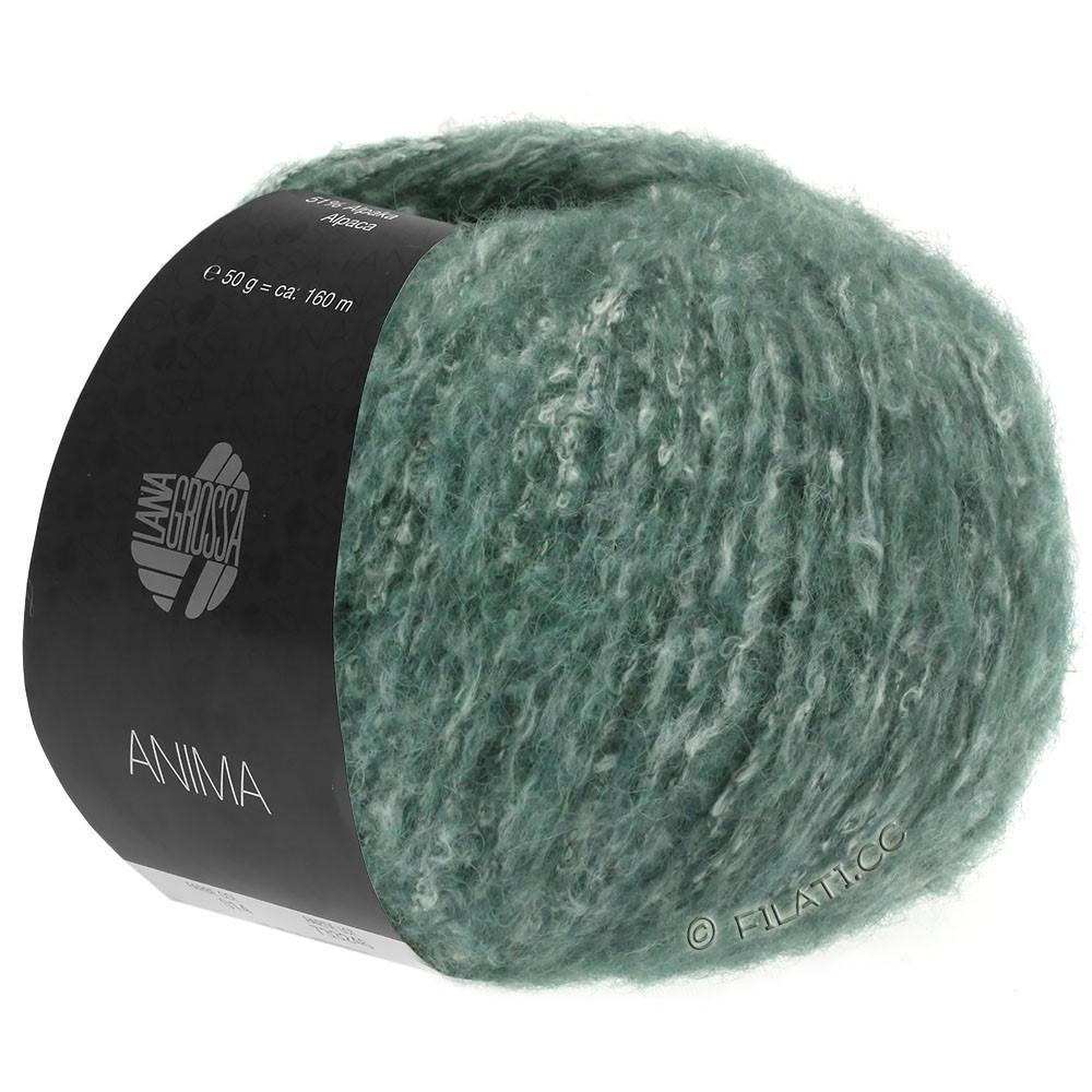 Lana Grossa ANIMA | 03-mørkegrøn meleret
