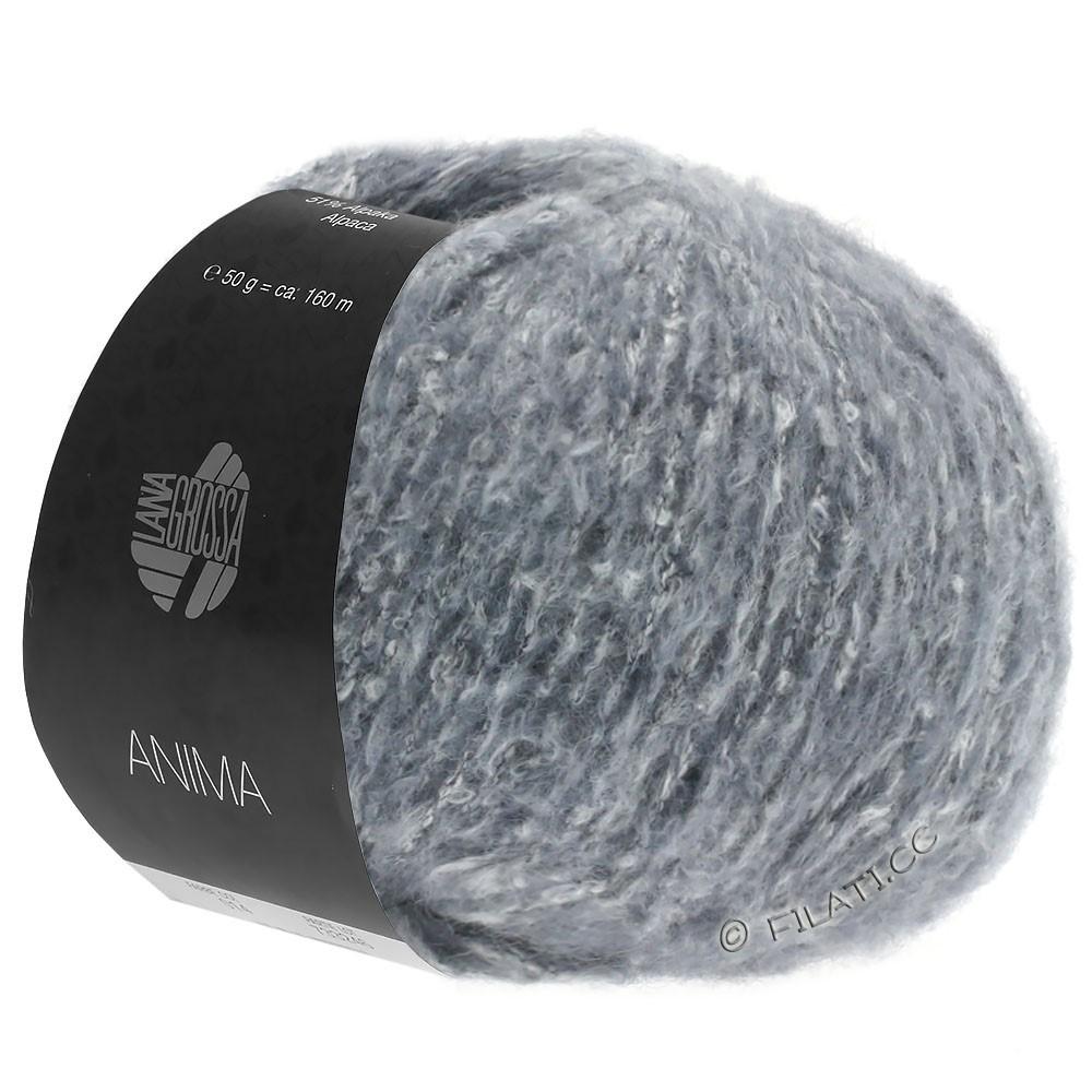 Lana Grossa ANIMA | 04-gråblå meleret