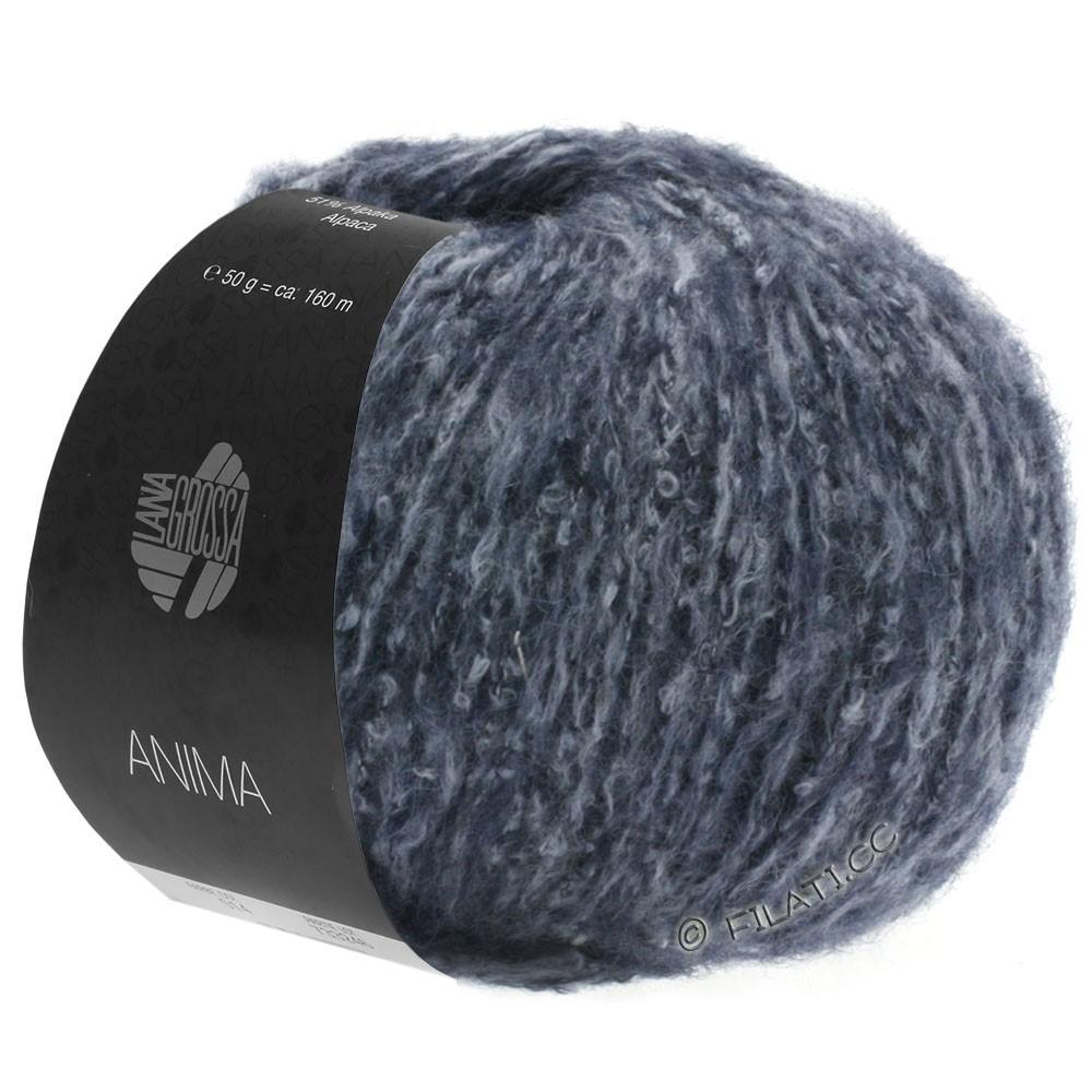Lana Grossa ANIMA | 08-mørkeblå meleret