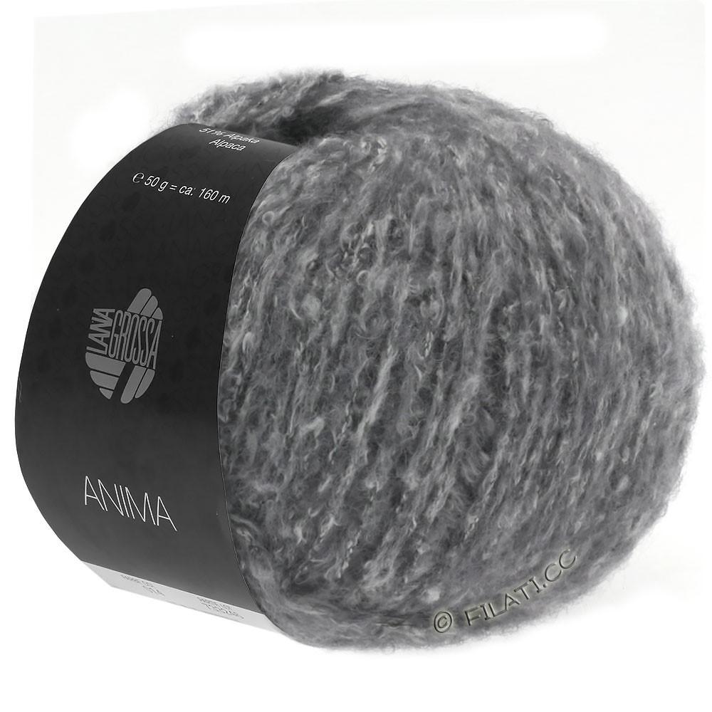Lana Grossa ANIMA | 10-mørkegrå meleret