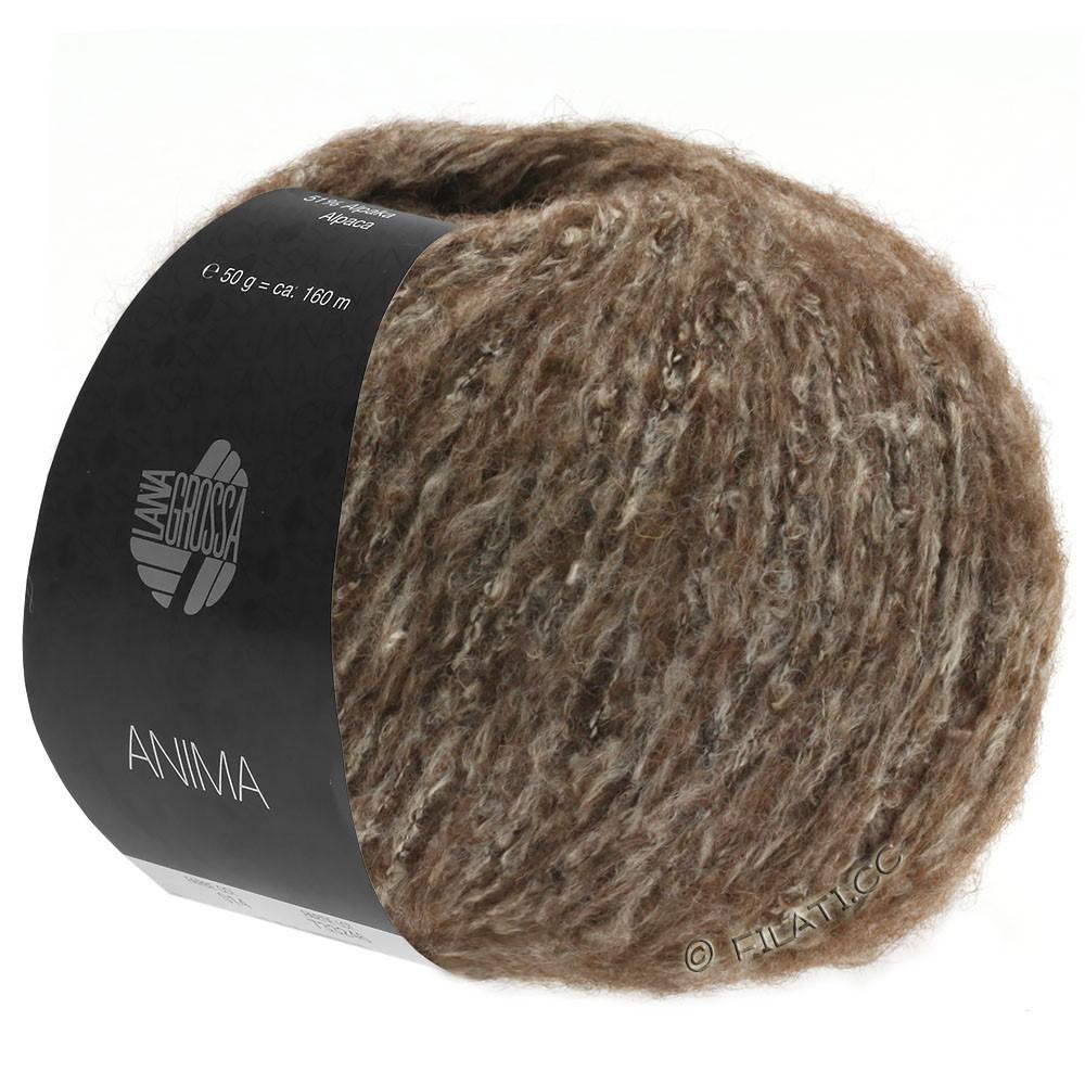 Lana Grossa ANIMA | 12-mørkebrun meleret
