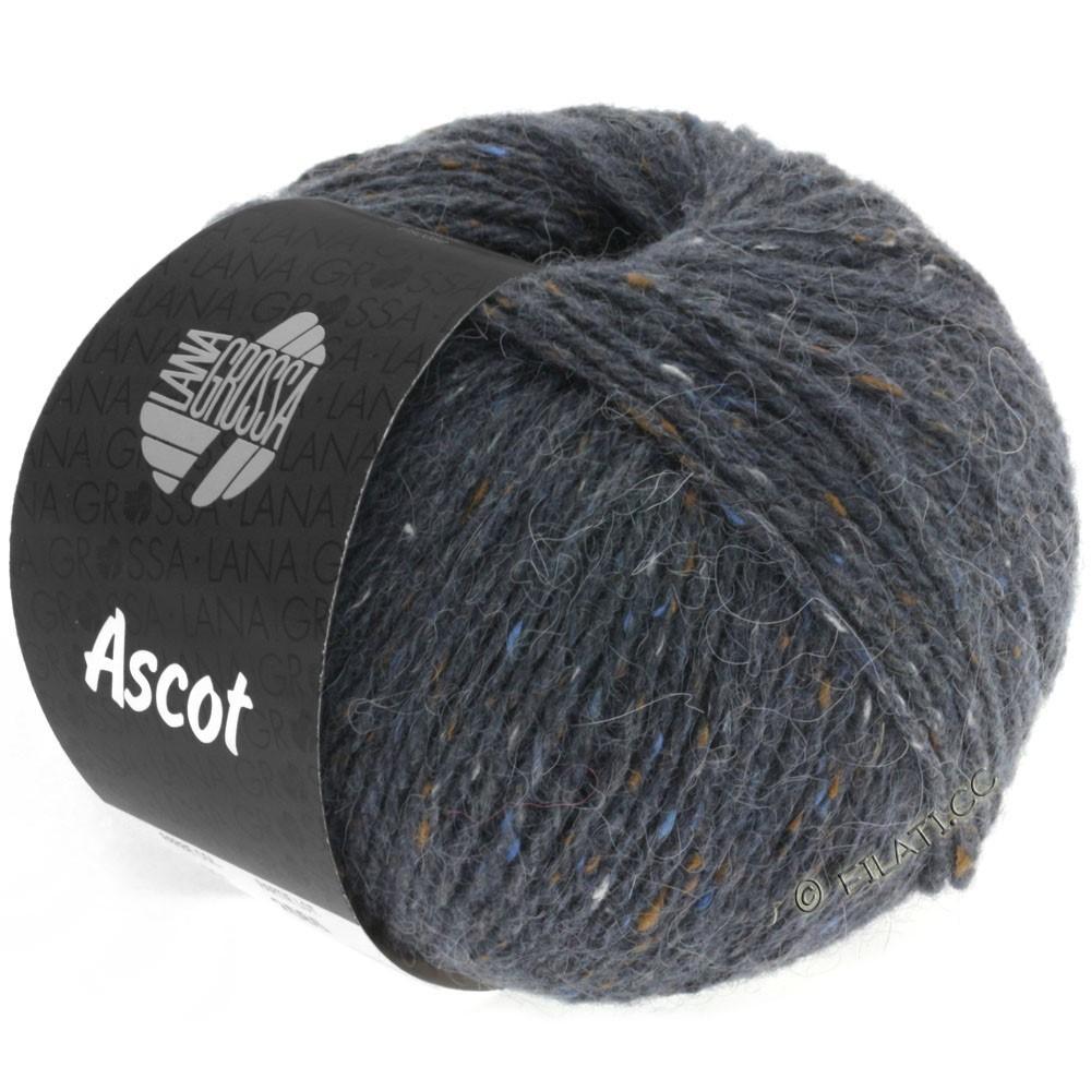 Lana Grossa ASCOT | 07-mørkegrå meleret