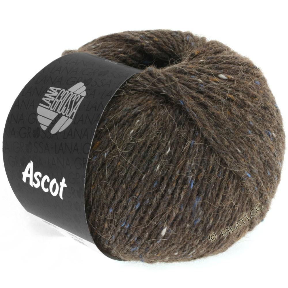 Lana Grossa ASCOT | 09-mørkebrun meleret