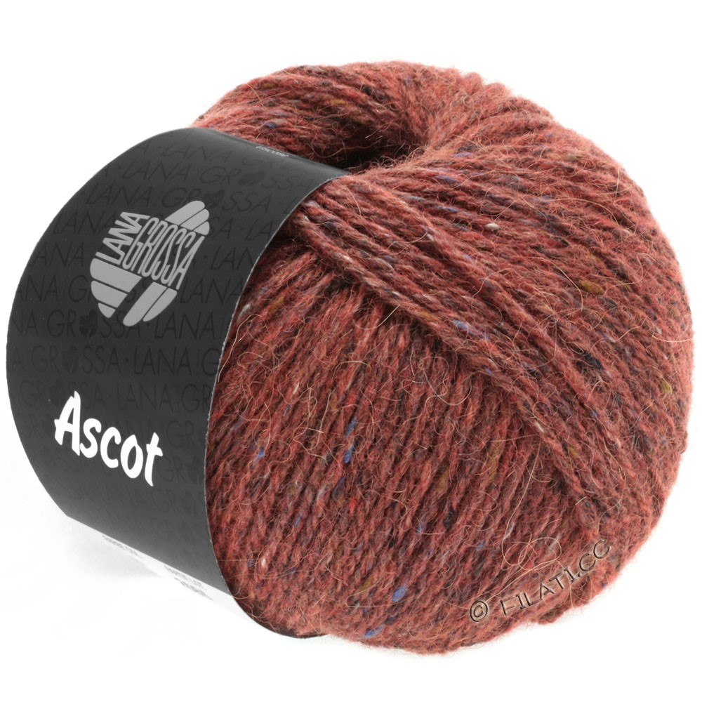 Lana Grossa ASCOT | 18-brunrød meleret