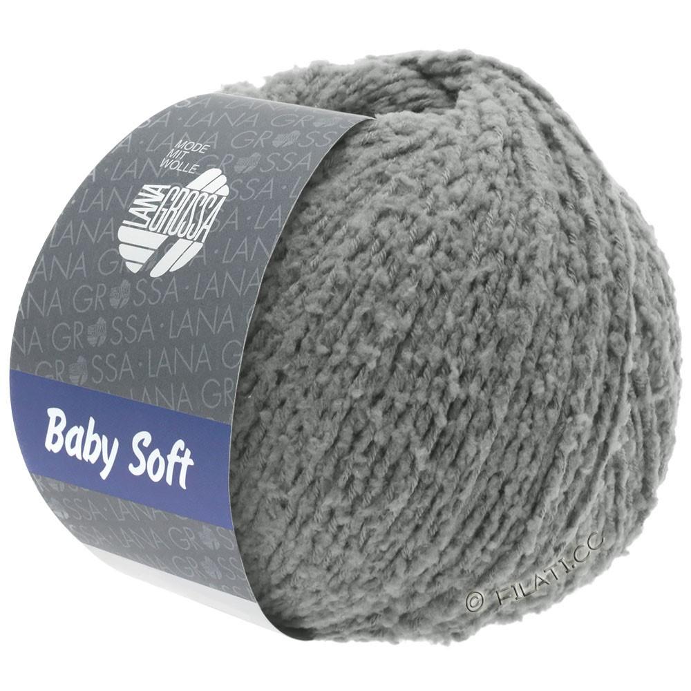 Lana Grossa BABY SOFT   11-mørkegrå