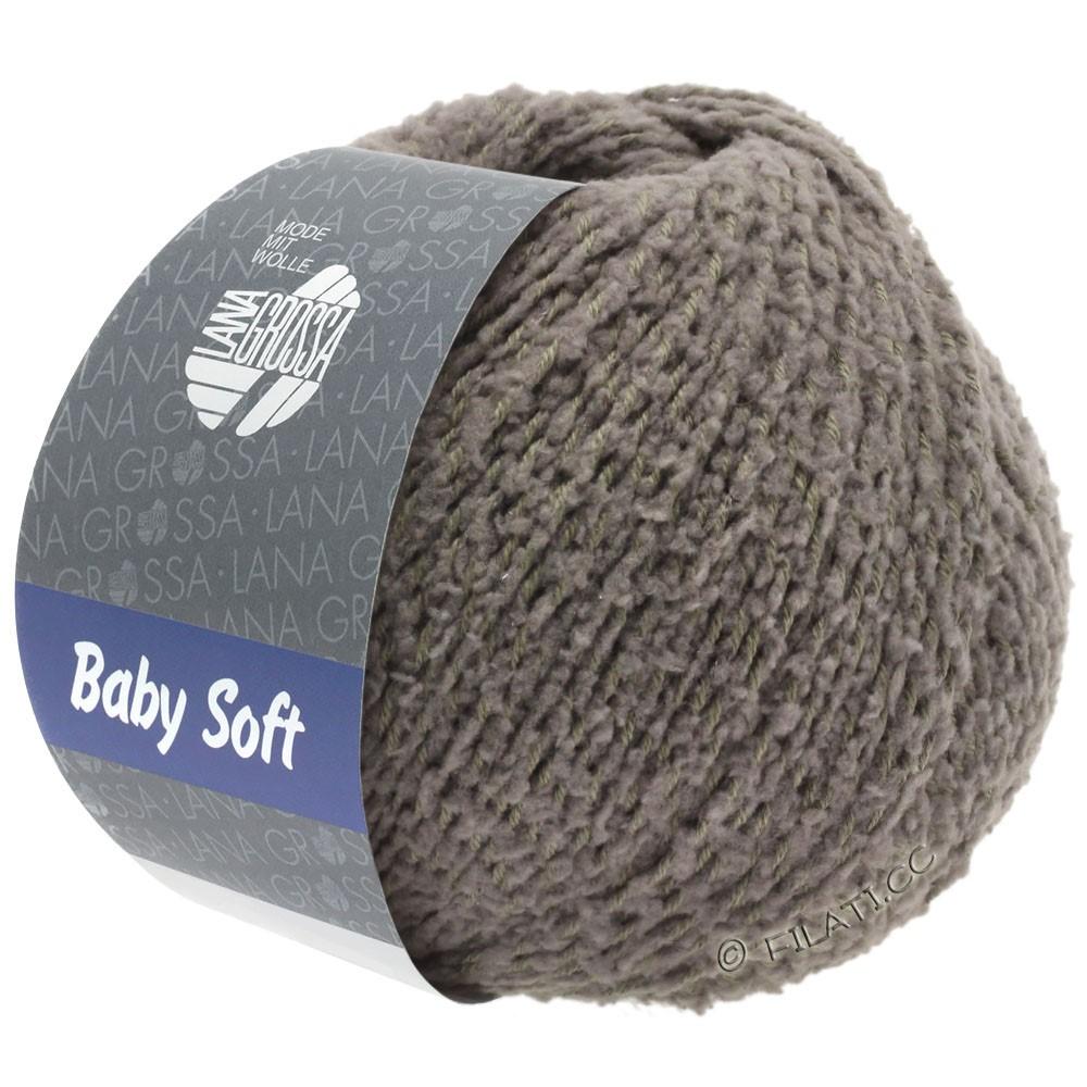 Lana Grossa BABY SOFT   14-gråbrun