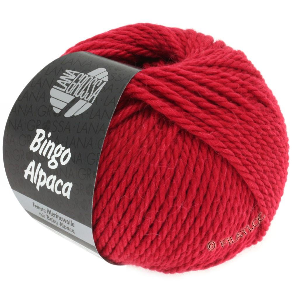Lana Grossa BINGO ALPACA Uni | 05-rød