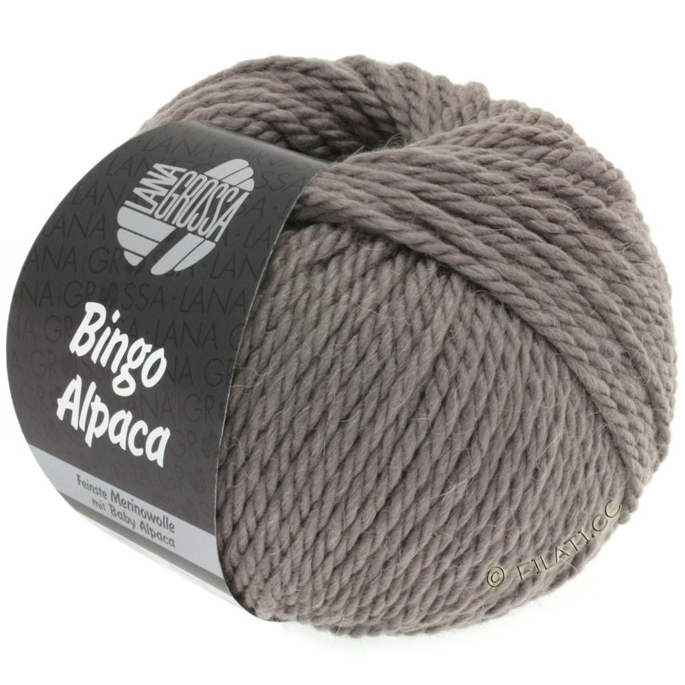 Lana Grossa BINGO ALPACA Uni | 06-gråbrun