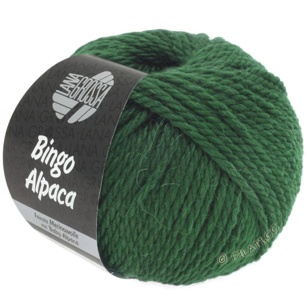 Lana Grossa BINGO ALPACA Uni | 10-mørkegrøn