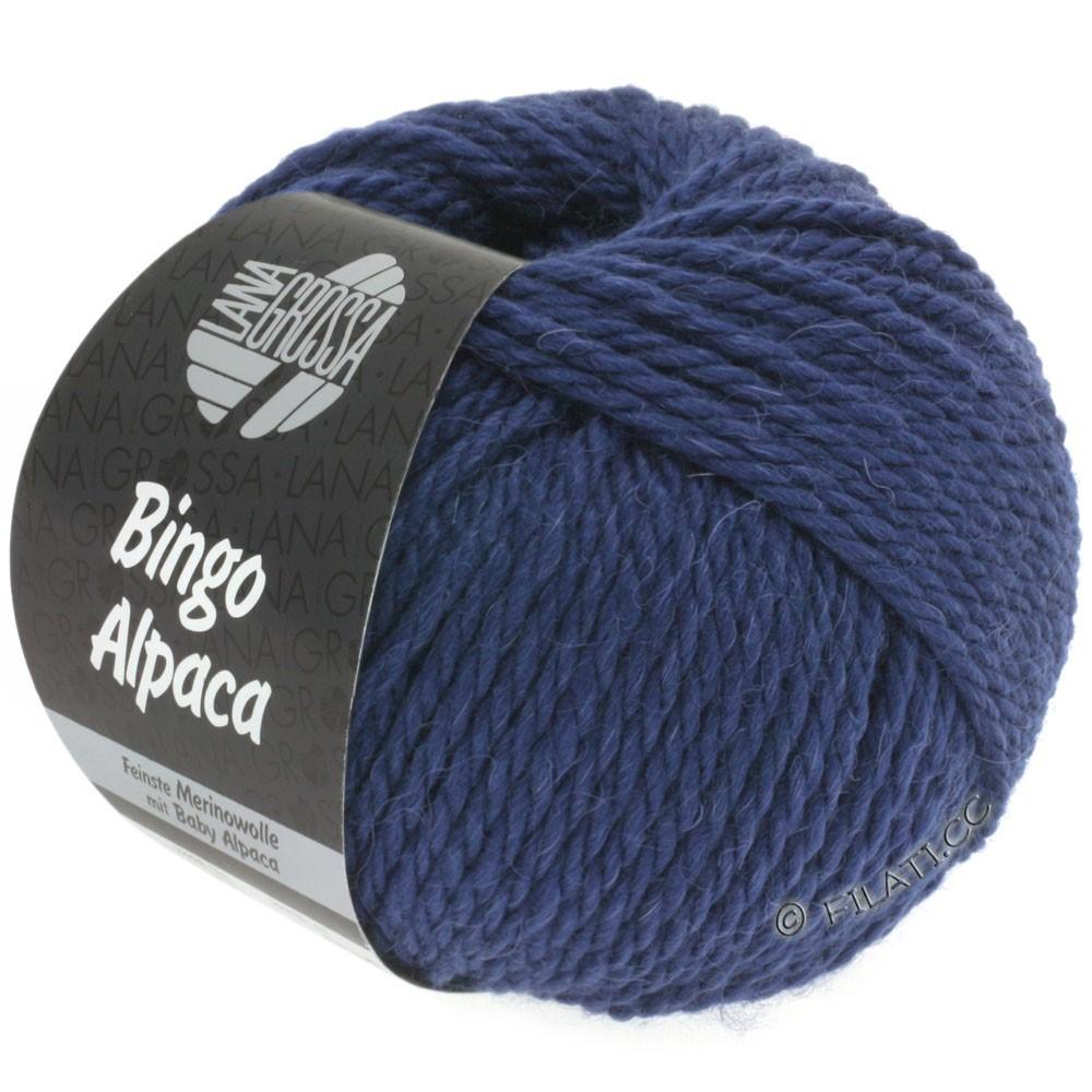 Lana Grossa BINGO ALPACA Uni | 11-mørkeblå