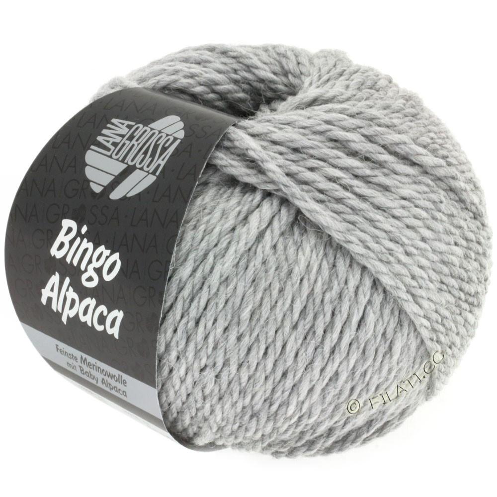 Lana Grossa BINGO ALPACA Uni | 12-grå